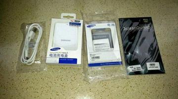 三星Note3原装电池和原装座充开箱照