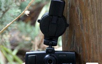 拍视频画轨迹 尚盟5H2定位记录仪首测