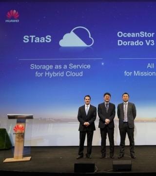 华为发布存储即服务方案 率先打造无缝跨云体验