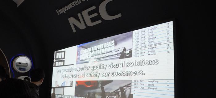 激光4K分布式拼接 NEC投影解决方案
