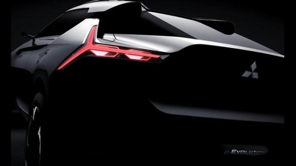 电动SUV车型 三菱e-EVOLUTION概念车